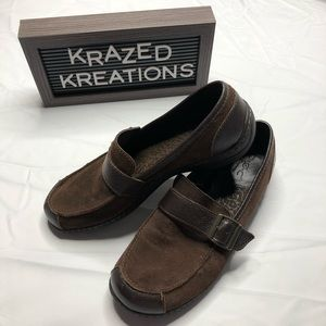 B.O.C. Born Concepts Leather Loafers Size 8.5